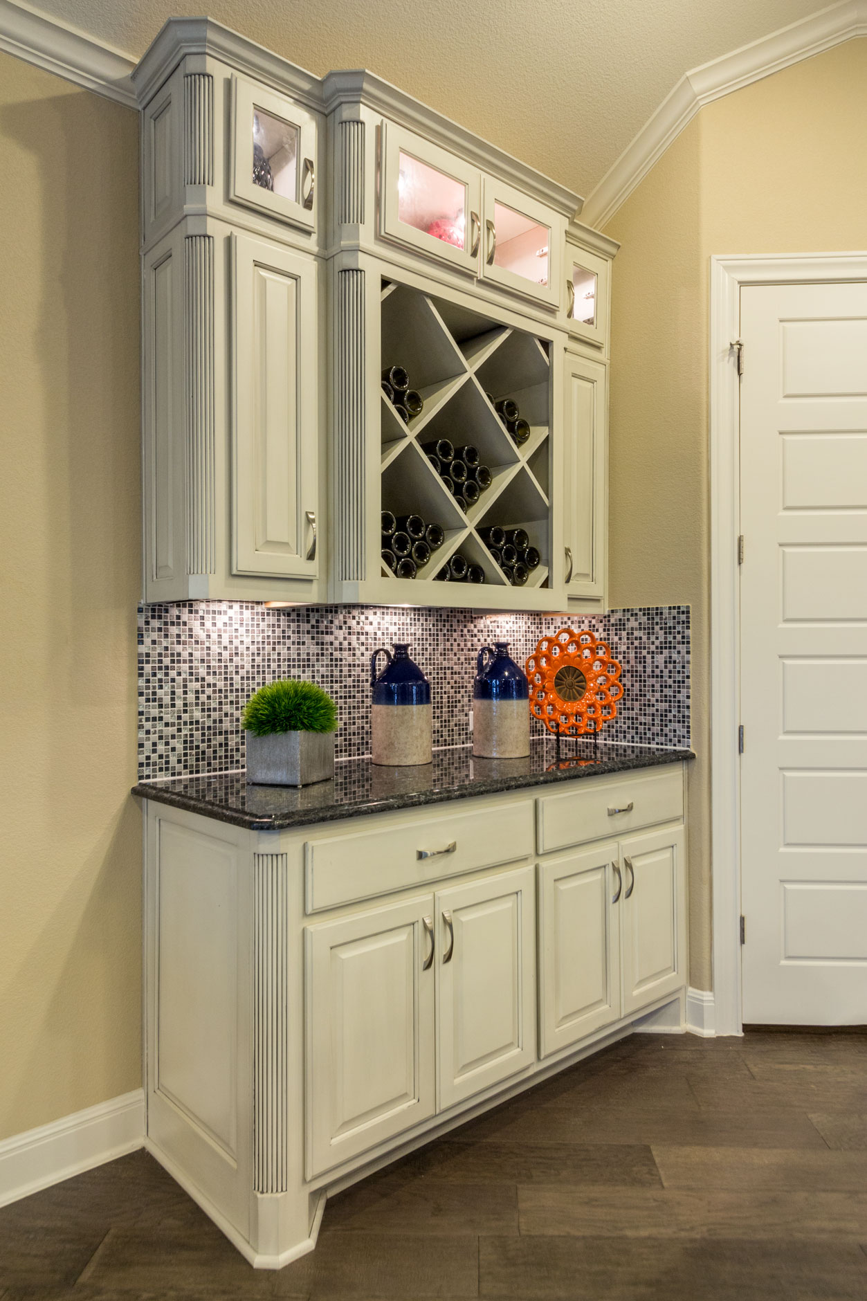 Kitchen Hutch 2 Burrows Cabinets Central Texas Builder