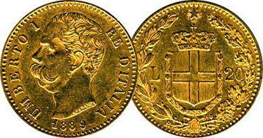 A moeda da Itália Lira
