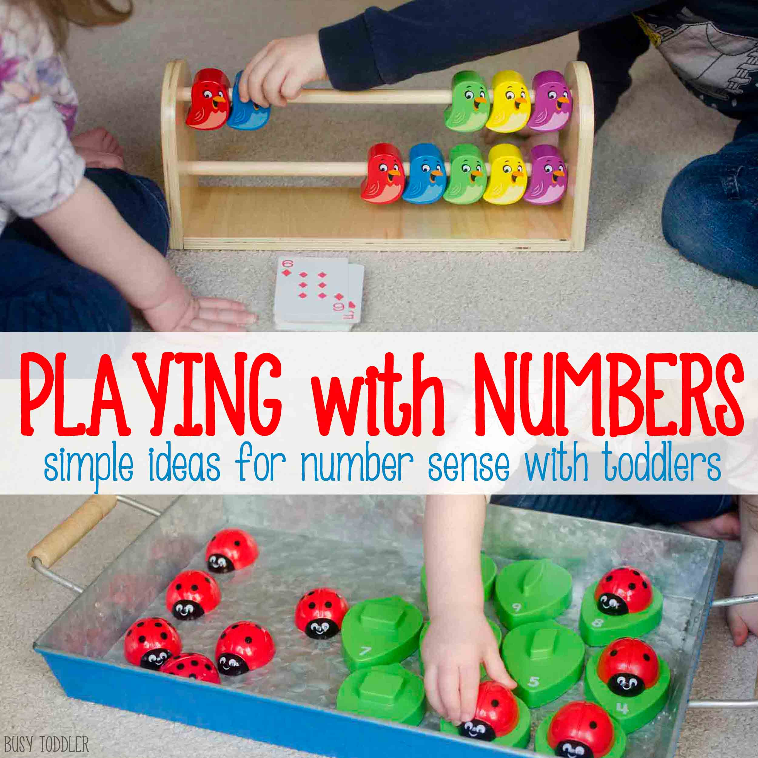 Developing Number Sense Through Play   Busy Toddler Developing Number Sense Through Play