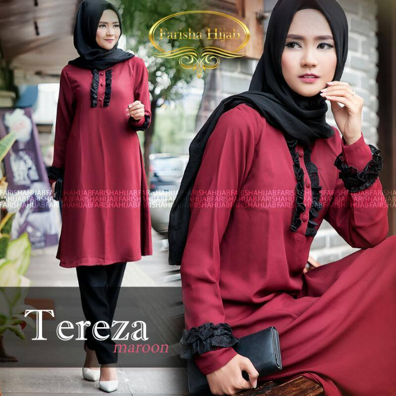 Image Result For Model Gamis Terbaru Ibu