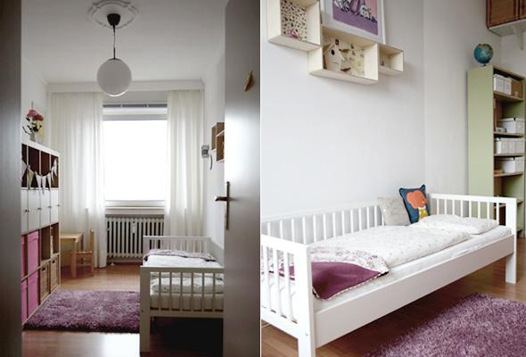 Ich liebe Kinderzimmer! Heute: Pedilus Mädchentraum auf 9 qm