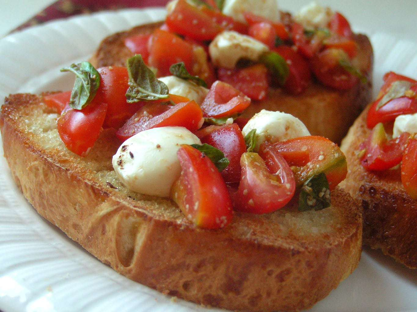 SIMPLE HOMEMADE BRUSCHETTA - Butter with a Side of Bread