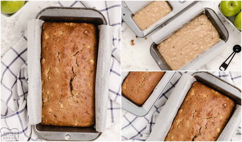 How to make Easy Apple Cinnamon Walnut Bread recipe