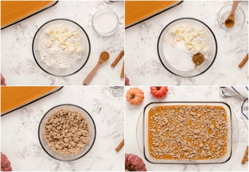 how to make a pumpkin pie cake recipe