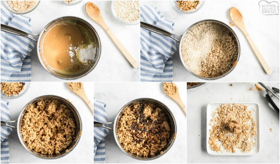 How to make Peanut Butter Oatmeal Energy Balls