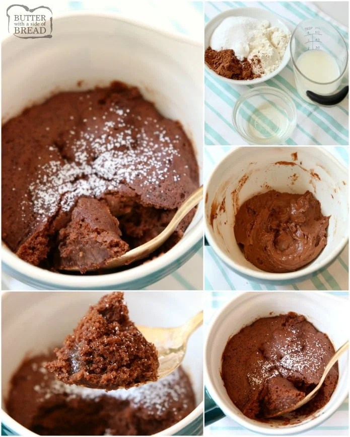 100 Calorie Chocolate Mug Cake Recipe made with common ingredients in 30 seconds! Soft, sweet & fudgy low-cal chocolate mug cake perfect for cravings.