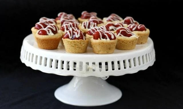 Cherry Pie Cookies are an easy way to whip up some delicious cookie cups that satisfy your craving for cherry pie, without all the work!