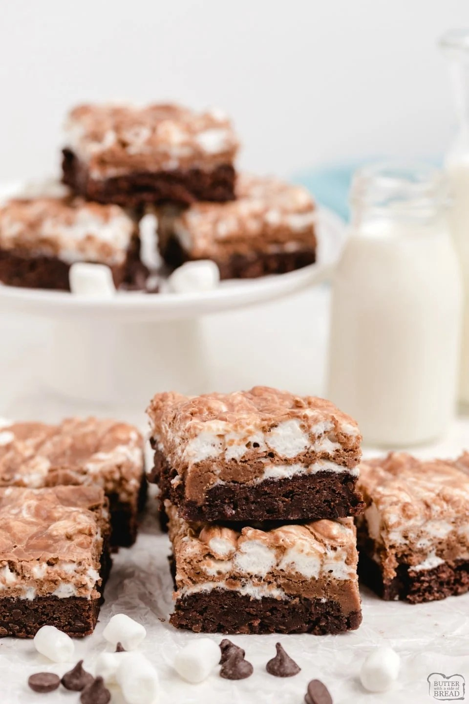 Best Homemade Marshmallow Brownies recipe