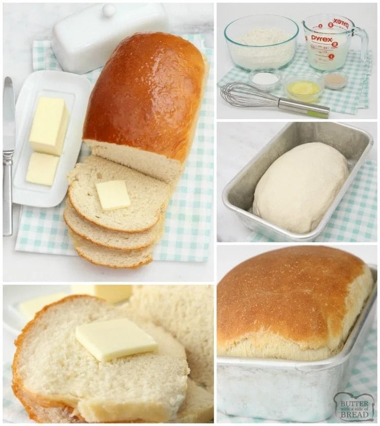 Buttermilk Bread baked fresh in your kitchen with this easy recipe! Buttermilk Bread is soft, has incredible flavor and can be made in your bread machine!