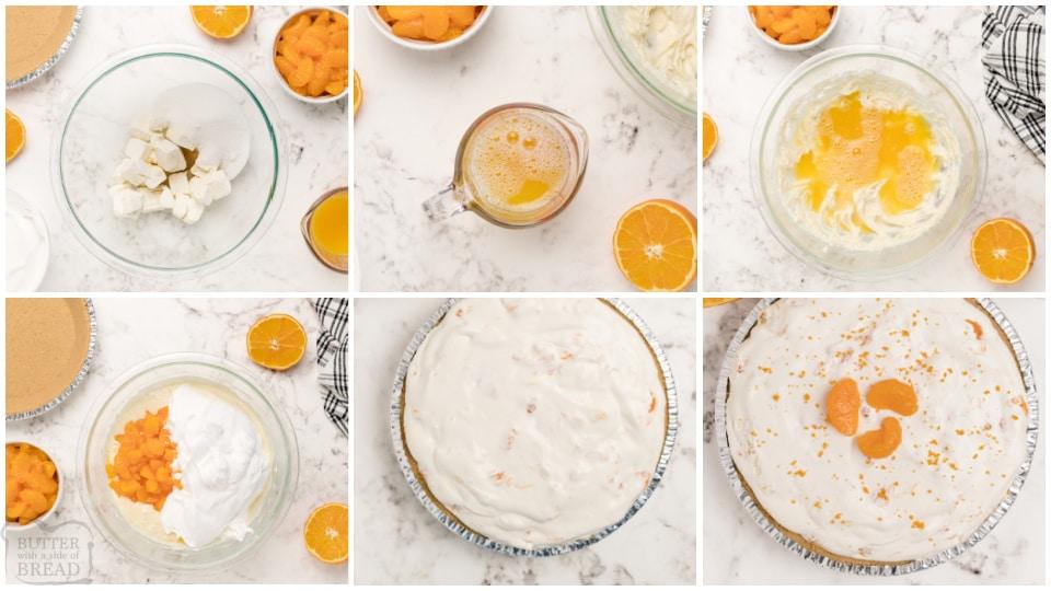 how to make orange creamsicle cheesecake