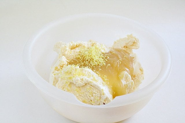 Lemon Ice Cream Bars - Butter With a Side of Bread