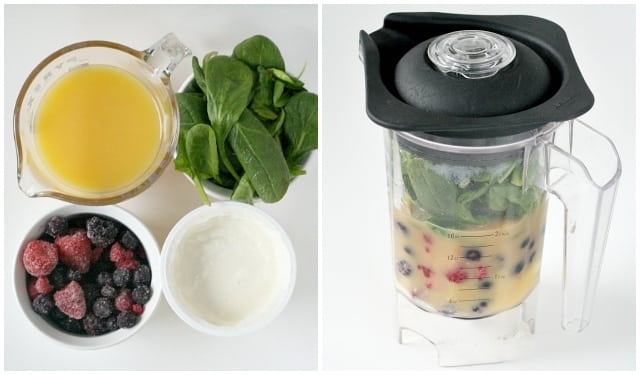"""Triple Berry """"Green"""" Smoothies - Butter With a Side of Bread"""