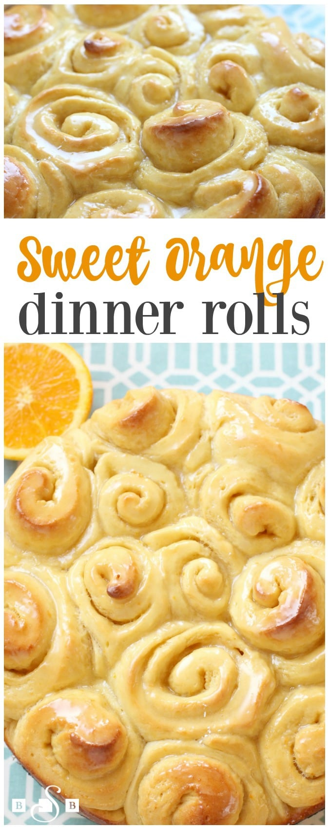 Sweet Orange Dinner Rolls are incredible homemade rolls with a bright, fresh orange flavor. Easy dinner roll recipe for lightly glazed and perfectly sweet dinner rolls!