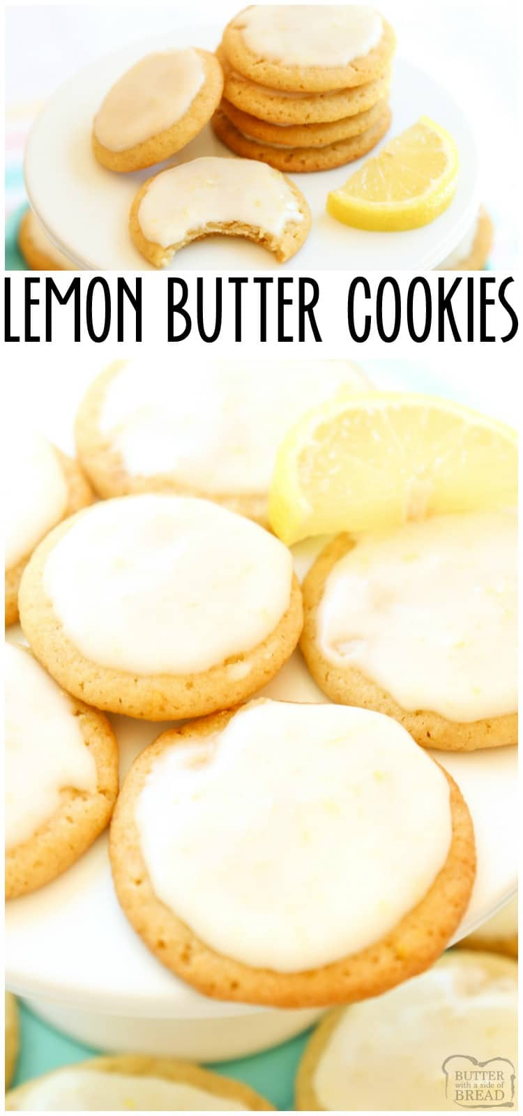 Lemon Butter Cookies are a delectable take on the classic butter cookies recipe. Thislemon cookie recipemakes the best of both sweet and sour flavors!