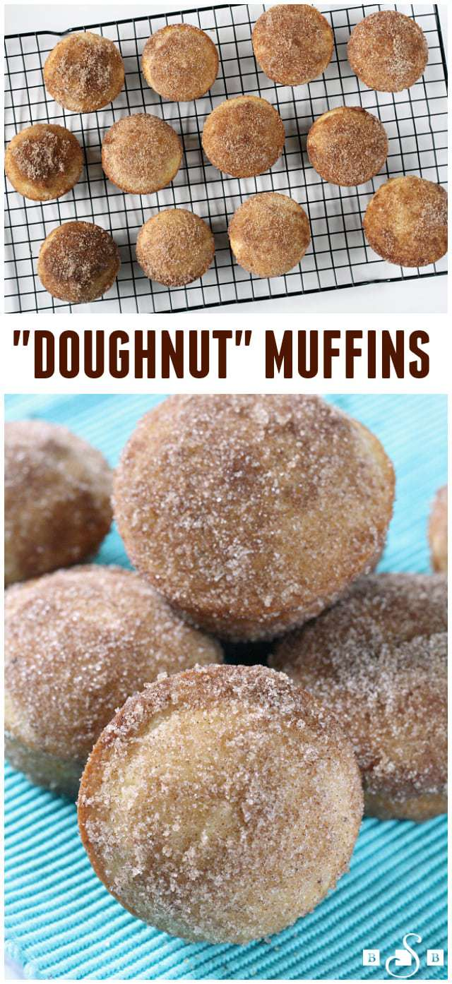 Doughnut Muffins - Butter With a Side of Bread