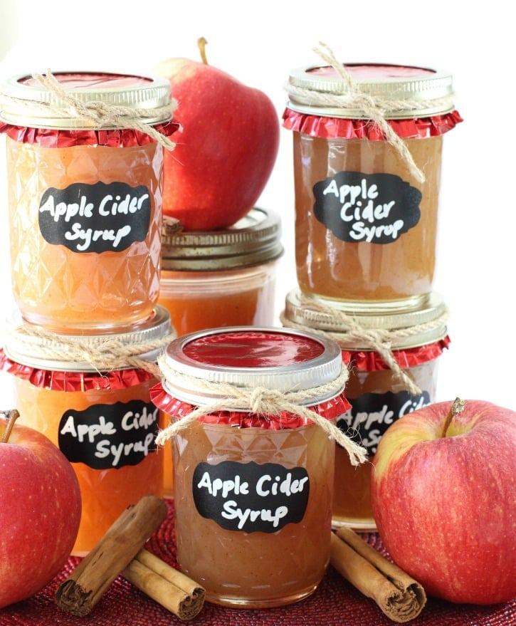 apple cider syrup recipe
