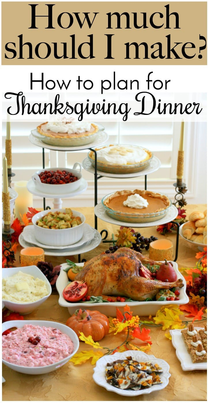 Ideas for Thanksgiving Dinner: Tips and tricks for serving just the right amount of food for one of the most important meals of the year, Thanksgiving!