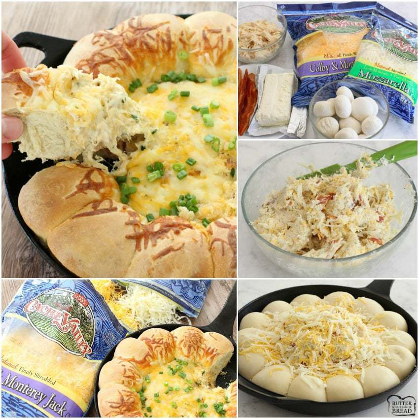 Cheesy Ranch Chicken Dip - Butter With A Side of Bread