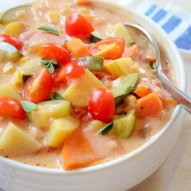 Summer Garden Vegetable Stew recipe