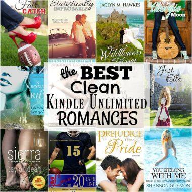 Best Clean Kindle Unlimited Romance Books