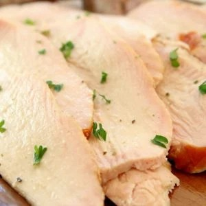 Easy Smoked Turkey Breast recipe made with just 4 ingredients! Simple method, no brining & results in moist & flavorful smoked turkey.