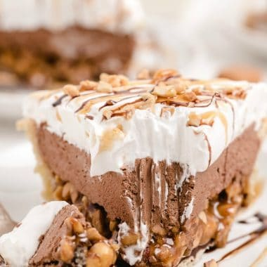 Chocolate Cream Turtle Pie recipe