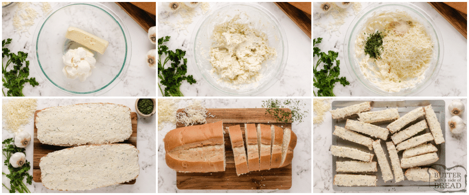 How to make garlic bread with cheese