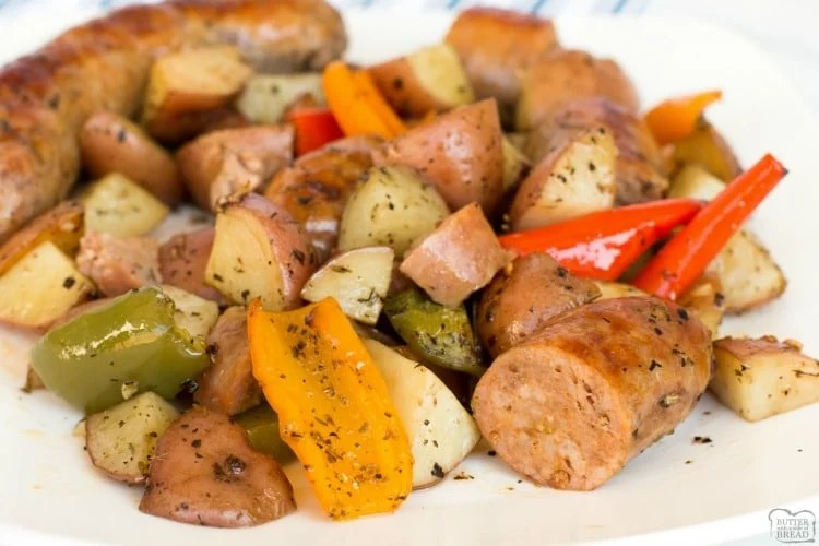 Sausage and peppers recipe