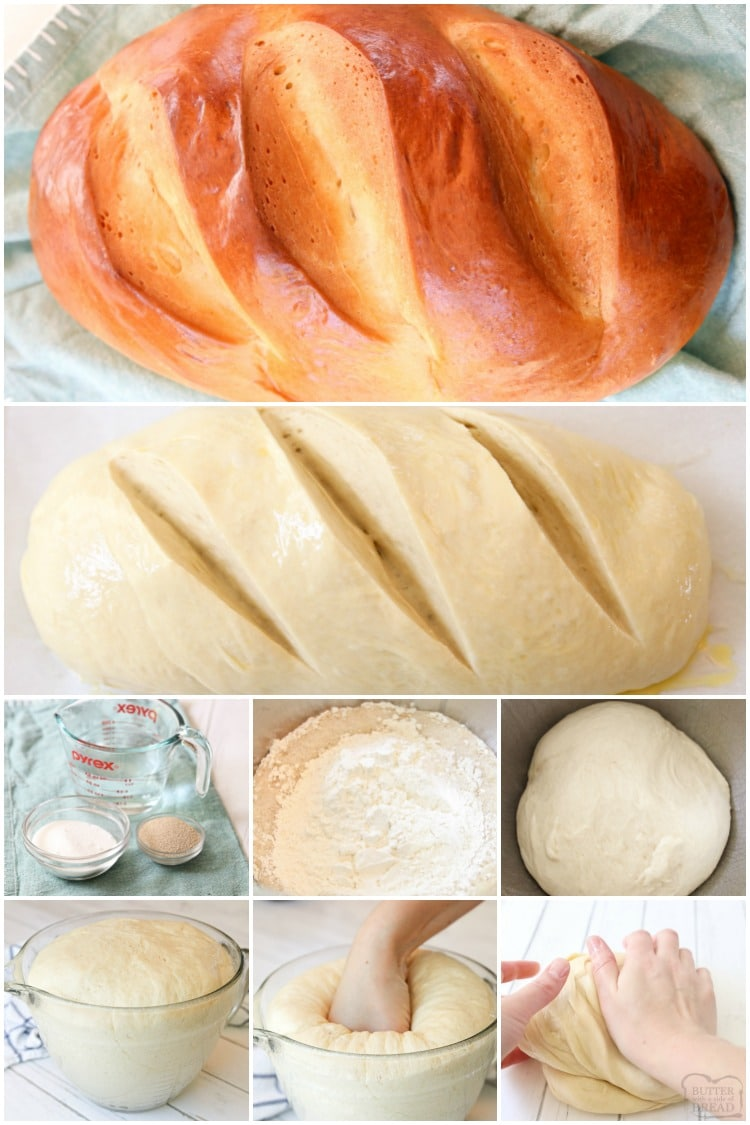 How to make french country bread
