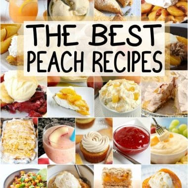 the best peach recipes