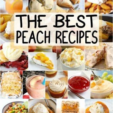 the best peach recipes
