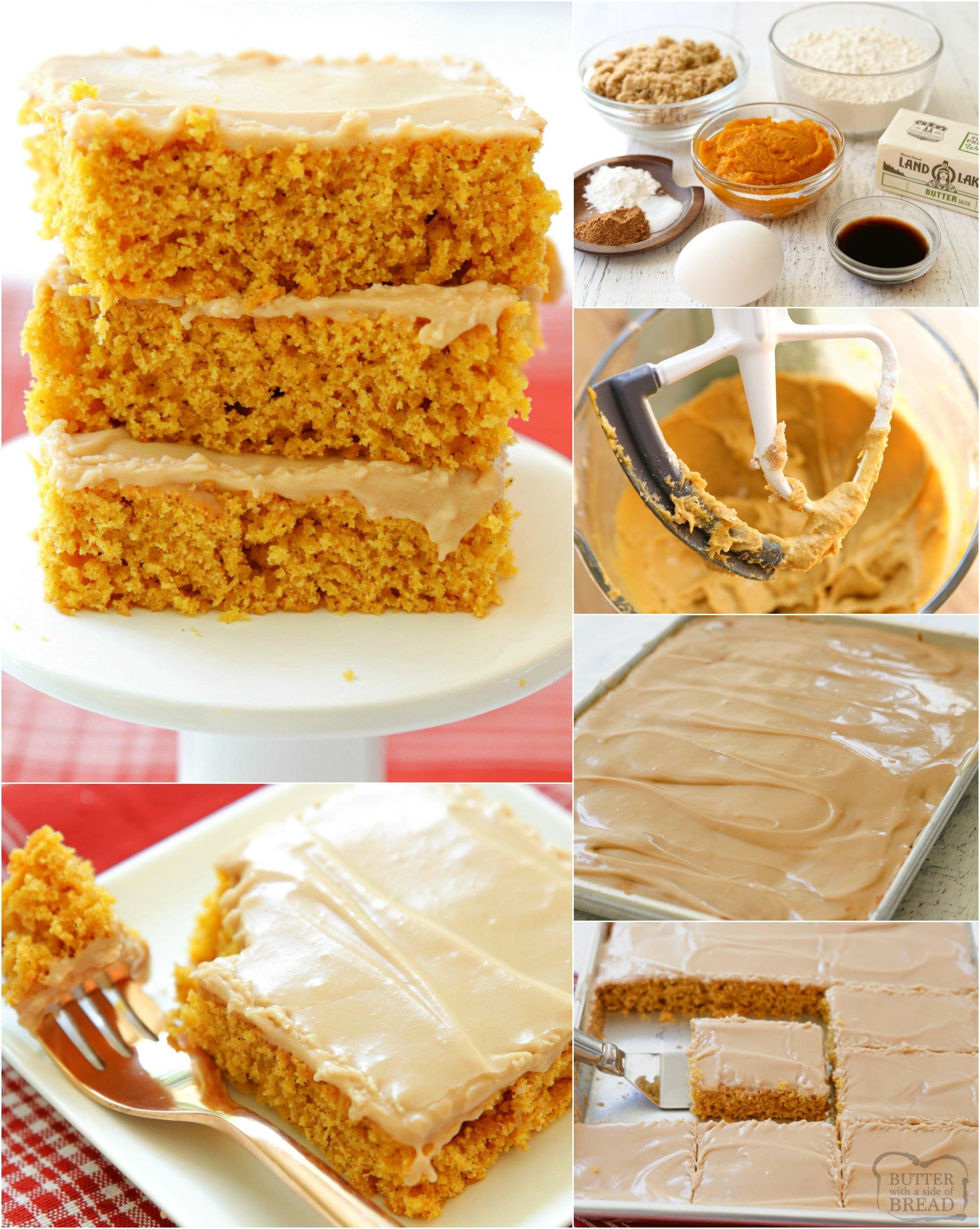 how to make pumpkin bars