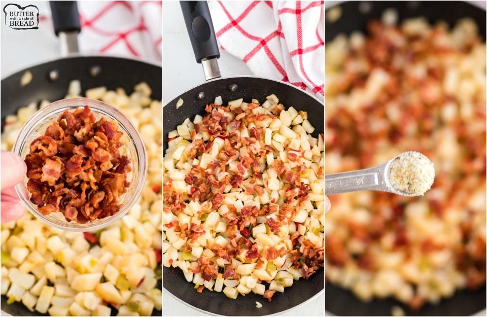 How to make a Bacon Breakfast Scramble