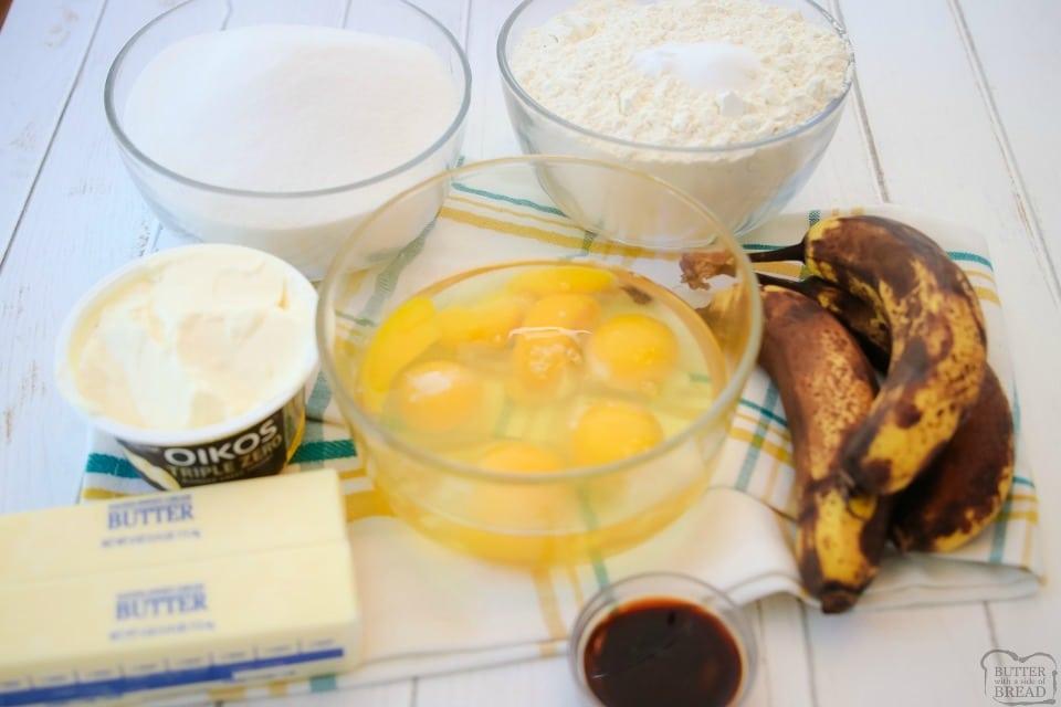 Best Banana Pound Cake recipe ingredients