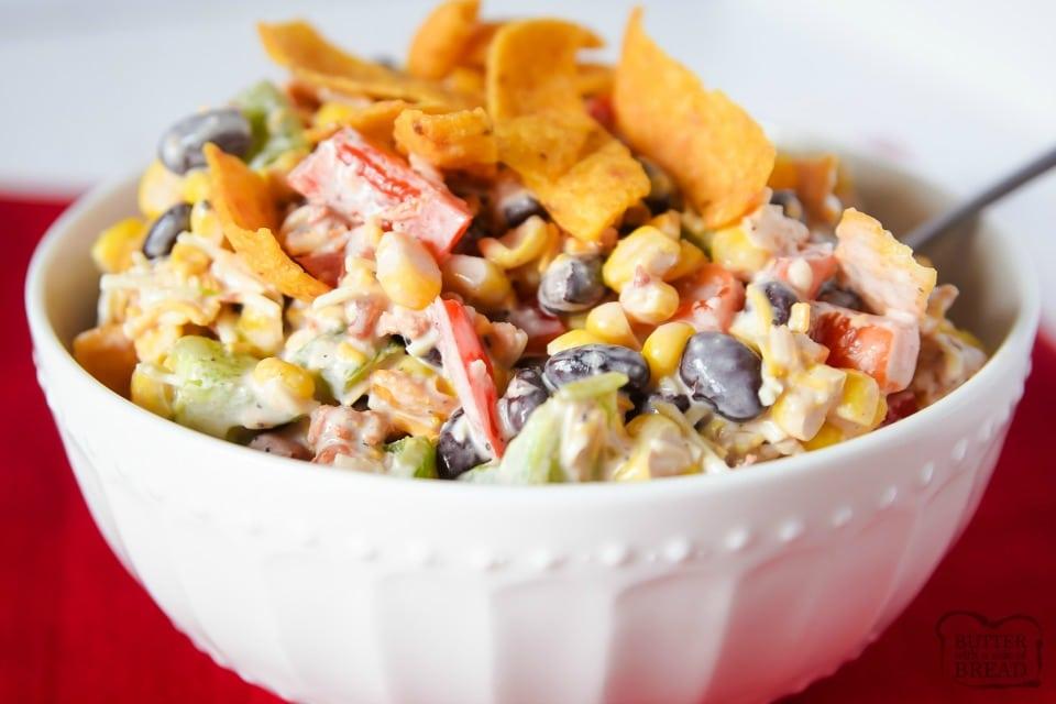 Easy Fritos Corn Salad recipe