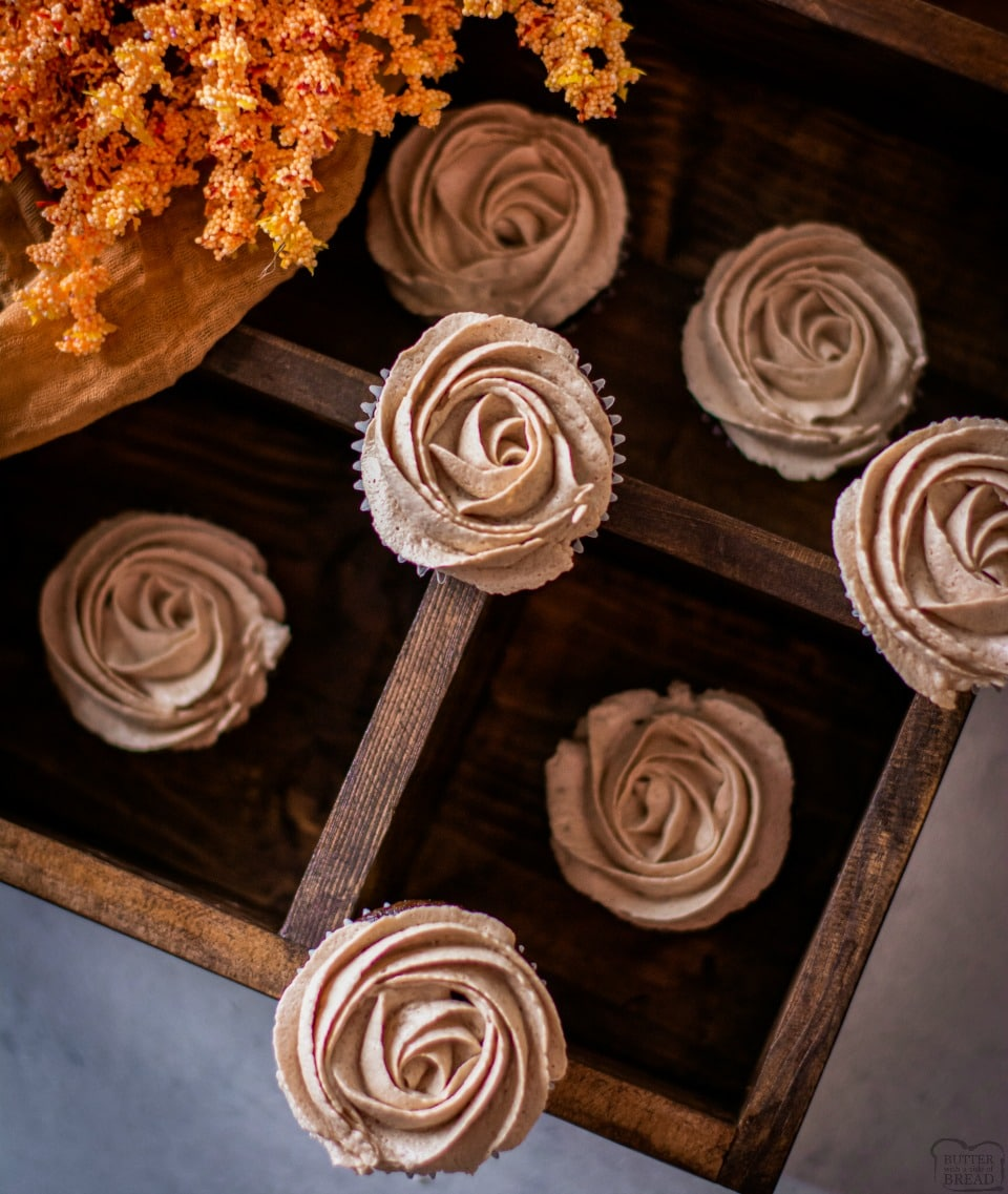 How to make Hot chocolate Cupcakes