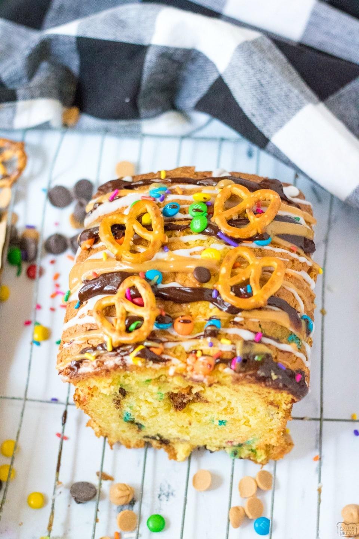 Monster Cookie Quick Sweet Bread recipe