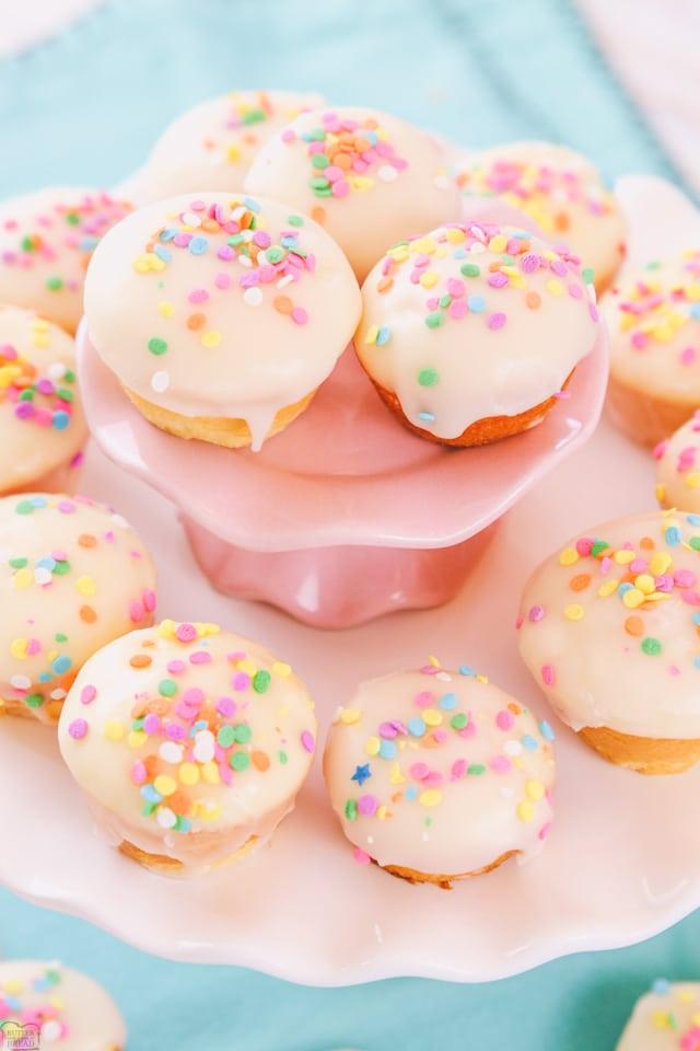 Easy Vanilla Cake Bites