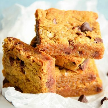 Browned Butter Blondies