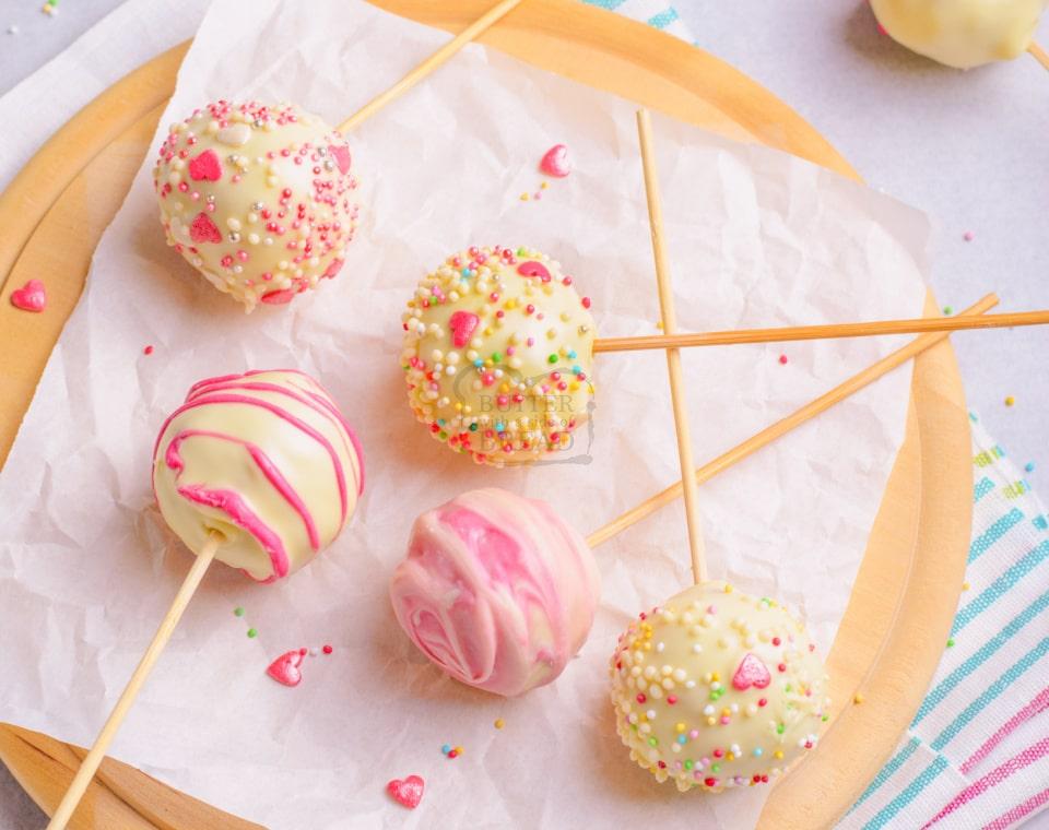 Pretty Pink Cake Pops recipe
