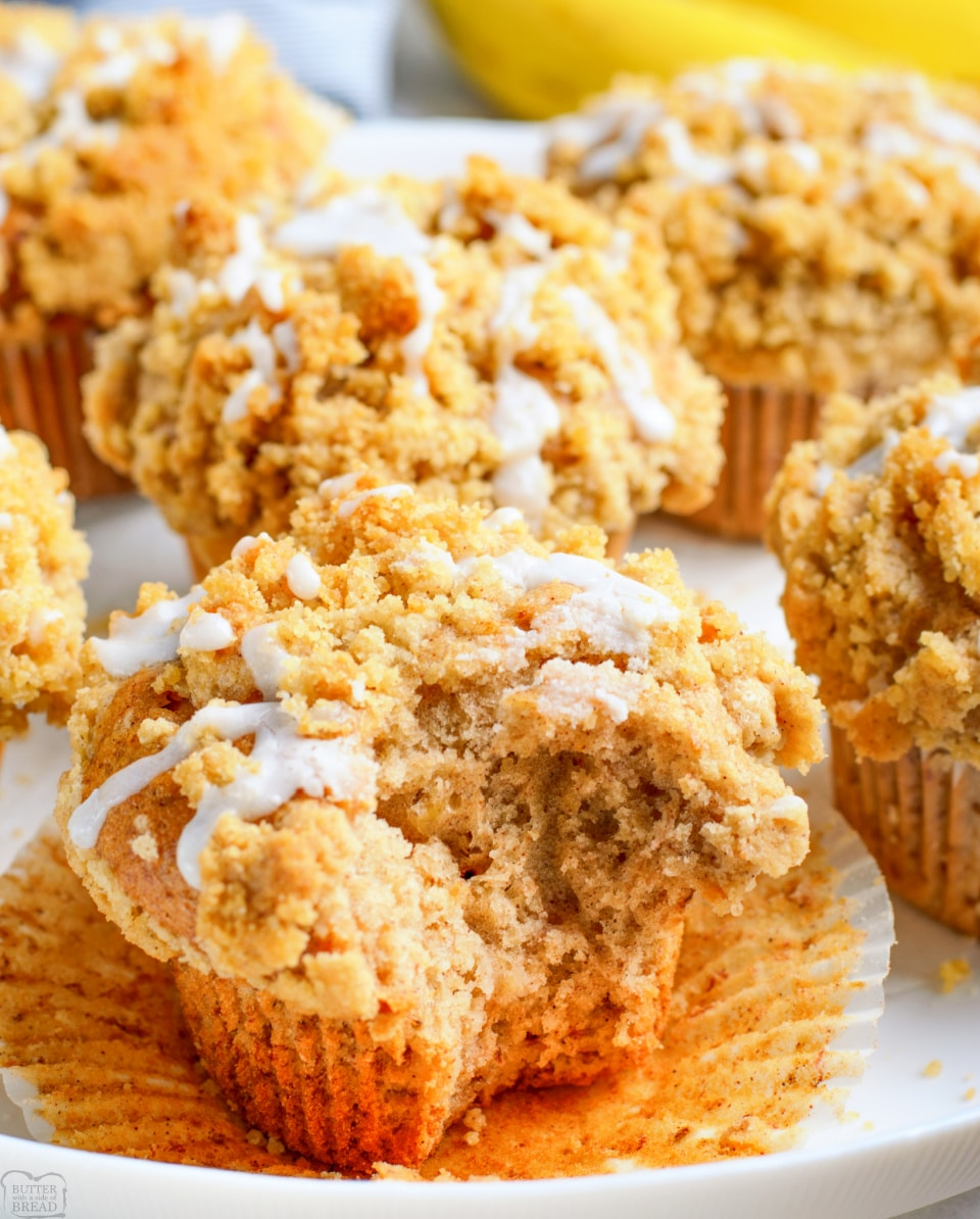 How to Make Bakery Style Banana Bread Muffins