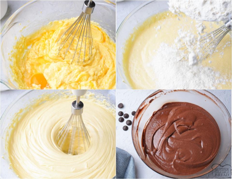 How to make a Easy Chocolate Zebra Bundt Cake recipe