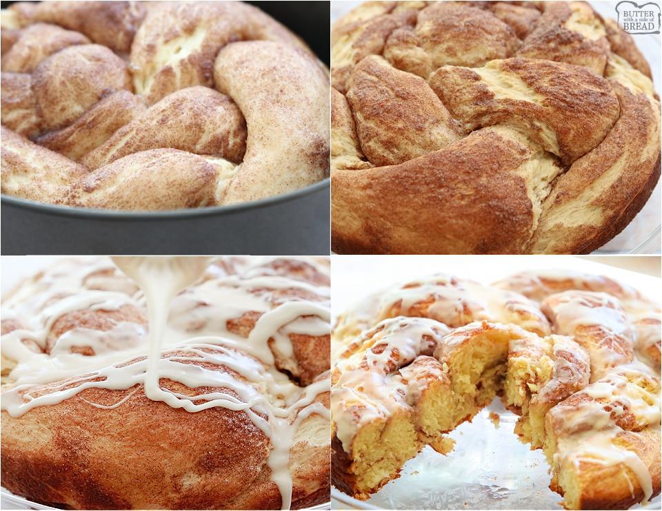 How to make Cinnamon Roll Bread recipe