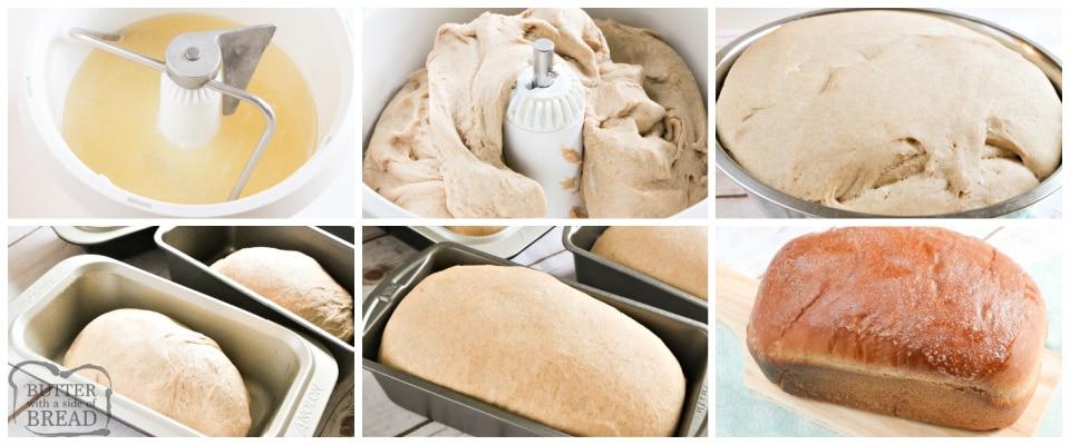 How to make homemade wheat bread