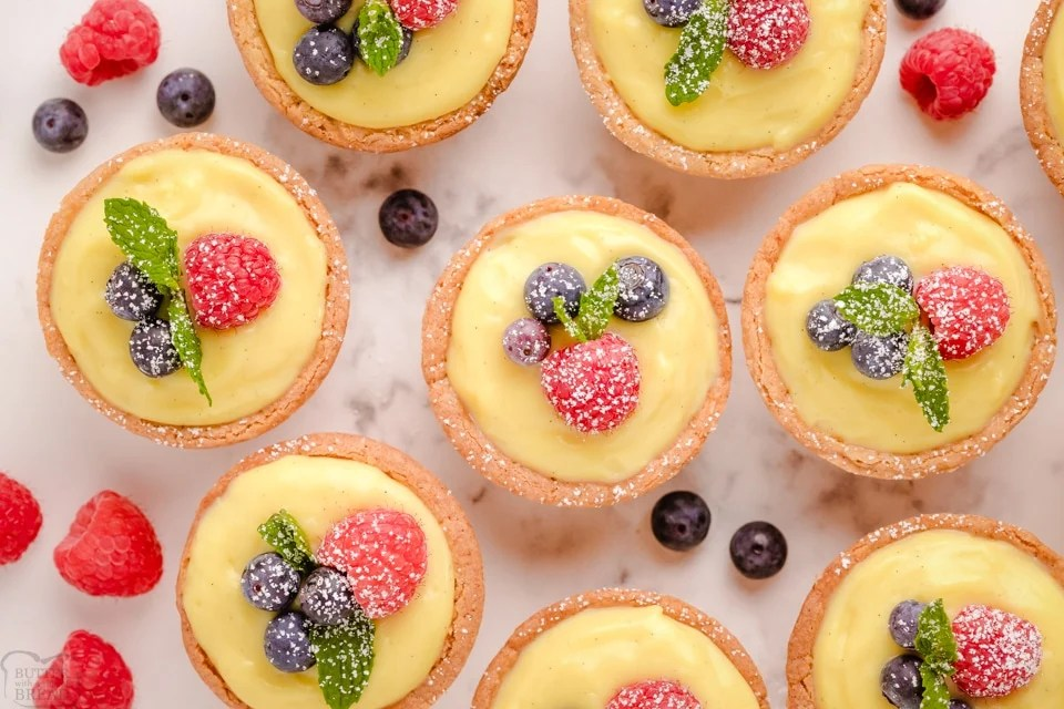 How to make the best Easy Sugar Cookie Fruit Tarts recipe