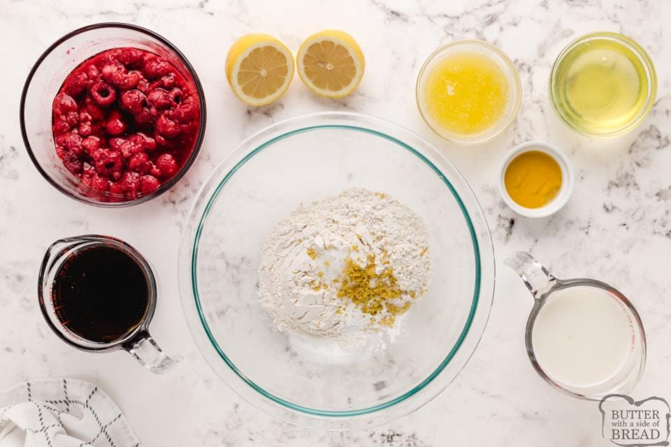 Ingredients in Lemon Pancakes
