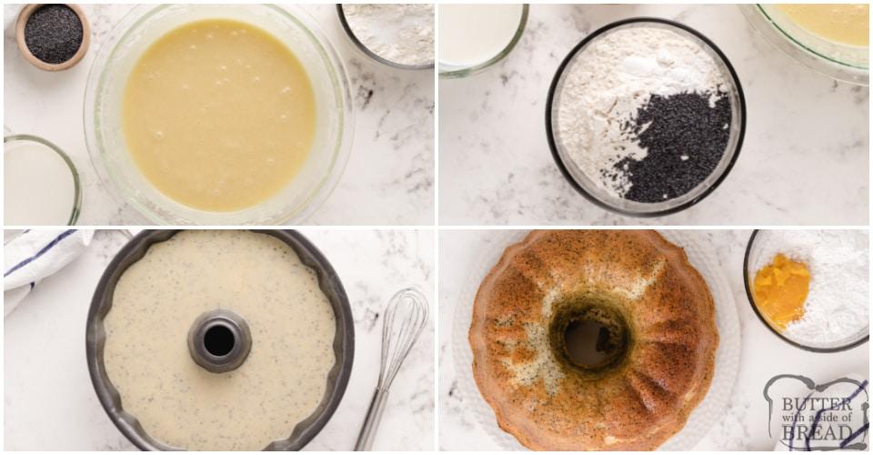 How to make Poppy Seed Bundt Cake