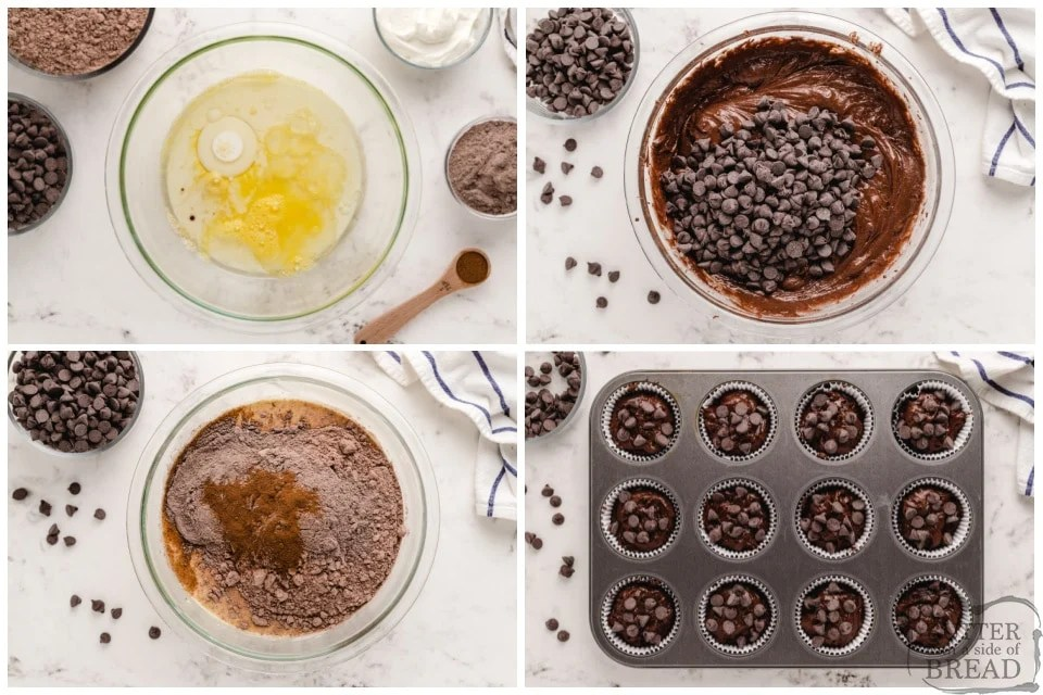 How to make Copycat Costco Chocolate Muffins