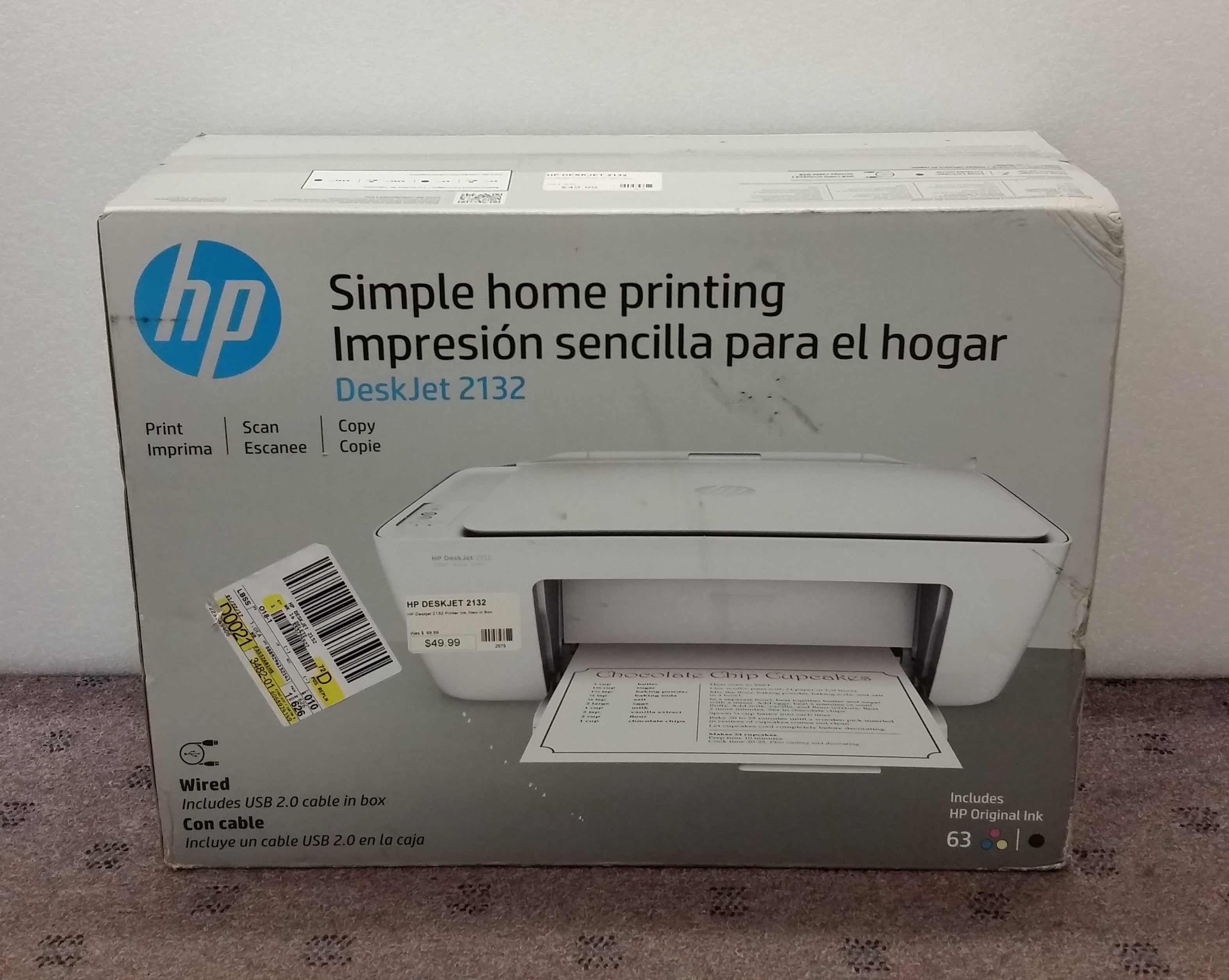 Hp Deskjet 2132 Inkjet Mfp Printer New In Box Buy Sell