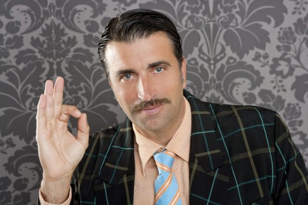 traditional style of mustache for men
